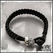 braided bracelet with beads images Monkey edge leather braided bracelet for beads bead not included jpg