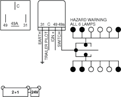 24v flasher relay wiring diagram circuit and schematics diagram