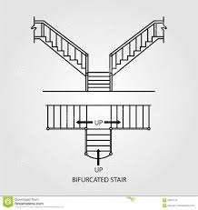 Stair Plan Measuring Buildings For The Historic American Survey Staircase