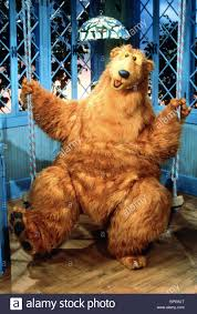 bear bear in the big blue house 1997 stock photo royalty free