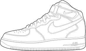 astronaut air force 1 nike shoe pics about space coloring home