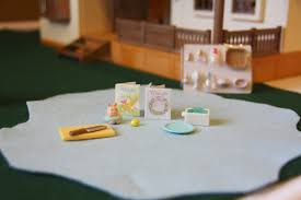 Calico Critters Play Table by A Blushing Thomas Table Simply Organized