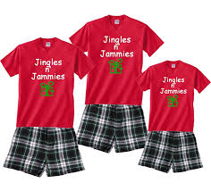matching pajamas for whole family jingles n