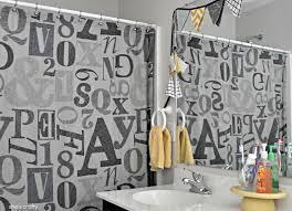 Kids Shower Curtains Target She U0027s Crafty House Tour Kids Bathroom