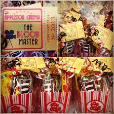 movie themed wedding ideas my movie themed party favors i made for a cast party parties