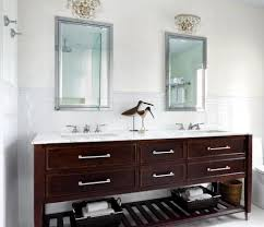 Bathroom Wall Mirror Ideas by Bathroom Mirror Ideas For Double Vanity Classy Double Carved Dark