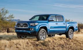 2016 toyota tacoma look at redesigned mid size truck