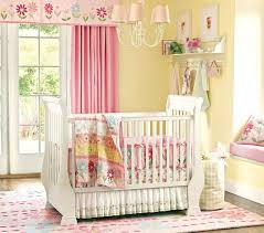 Chevron Pattern Curtains Window Treatments Nursery Pink Painted Wall Beige Blockout Curtain