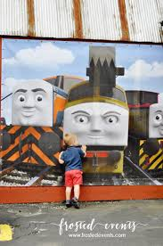 thomas the tank engine wall art shenra com day out with thomas the train a moms review and pics