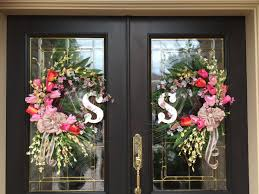 best 25 double door wreaths ideas on pinterest spring wreaths