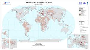 Where Is Central America Located On The World Map by Transboundary Groundwaters Igrac