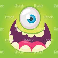 Halloween Monster Faces by Cartoon Monster Face Vector Halloween Green Cool Monster Avatar
