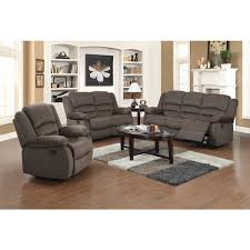 Fabric Recliner Sofa Dallas 3 Fabric Reclining Sofa Set Free Shipping Today