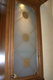 Decorative Cabinet Glass Panels by Curio Frosted Cabinet Glass Decorative Glass Inserts By Sans Soucie