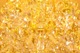 brilliant background from chandelier ornaments stock photo image