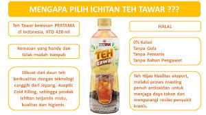 Teh Ichi nikmati sejuta manfaat teh dalam sebotol ichitan teh tawar pertama