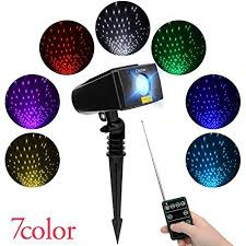 christmas laser lights black friday laser christmas lights 7 in 1 colour outdoor star projector with rf