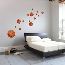 chambre basketball stickers basketball reusabel basketball peintures par primedecal