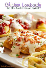 olive garden family meals chicken lombardy recipe