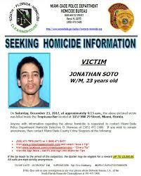 Seeking Miami Miami Dade On Seeking Information On 12 23 17