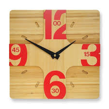 Wooden Wall Clock Gorgeous Modern Wood Wall Clock 148 Infinity Contemporary Wooden