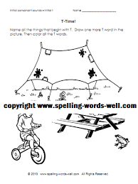 phonics coloring pages with beginning sounds