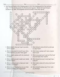 personal hygiene grooming word fit worksheet esl fun games have fun