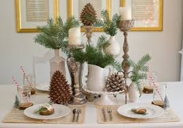 simple christmas table decorations simple christmas table decoration ideas mariannemitchell me
