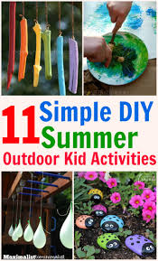 Backyard Kid Activities by 11 Kid U0027s Outdoor Activities That Are Simple Frugal And Fun