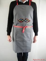 tablier cuisine homme personnalisé épinglé par bonneau sur couture tablier et tuto