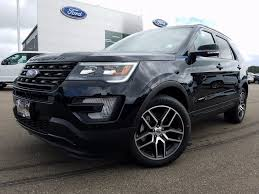 Ford Explorer Trunk Space - new 2017 ford explorer sport 4d sport utility in belleville