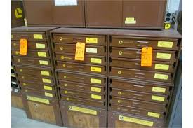 Parts Cabinets Lot 8 Lawson 4 Drawer Parts And Hardware Cabinets With Contents