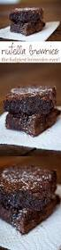 nutella brownies the thickest fudgiest brownies ever