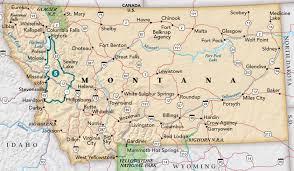 Missoula Montana Map by Flathead To Philipsburg Trip Idea