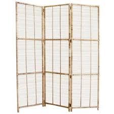 Folding Screen Room Divider Vintage Bamboo Rattan Folding Screen Room Divider Polyvore