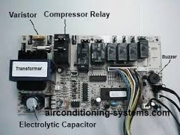 a c compressor capacitor wiring diagram air conditioning