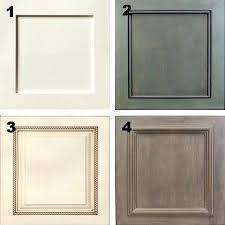 Trim For Cabinet Doors Adding Trim To Kitchen Cabinets Doors Flat Trim Molding Flat