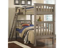 ne kids highlands mission style twin over twin harper bunk bed hanging tray sold separately