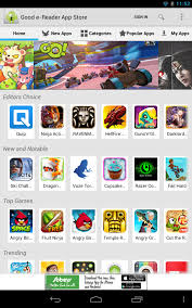 android app store 80 million choose the e reader android app store and