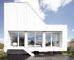 flying box house by 2a design shipping container house french