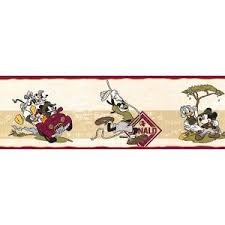 frise cuisine autocollante frise murale mickey design d intérieur et inspiration de mobilier