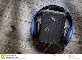 Blind Bible Bible And Headphones Stock Image Image Of Book Blindness 51323415