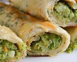 cuisiner le brocolis frais recette de crêpes de quinoa sans gluten persillées fourrées au