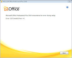 error 1327 invalid drive while installing or updating installation why am i getting error 1327 invalid drive when