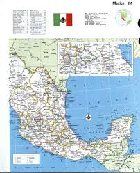 San Felipe Mexico Map by Mexico Detailed Mapfree Maps Of North America