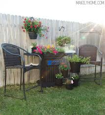 Backyard Grill Ideas Diy Planter Made From An Upcycled Bbq Grill