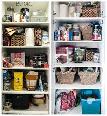 kitchen food storage cupboard how to organize your kitchen and pantry in 6 simple steps