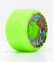 santa big balls 65mm neon green cruiser wheels zumiez