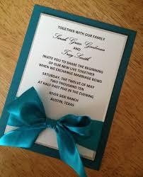 teal wedding invitations reduxsquad - Teal Wedding Invitations