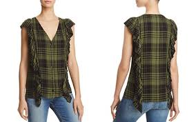 sleeveless ruffle blouse sleeveless blouse bloomingdale s
